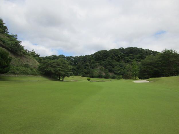 足利城ゴルフ倶楽部6番ホールコース画像
