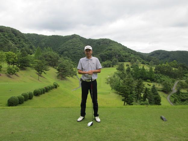 足利城ゴルフ倶楽部9番ホールの幹事