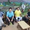 足利カントリークラブ関谷記念杯に参加した任さん、鉄人、親さん、ヨッジー2015.8.2