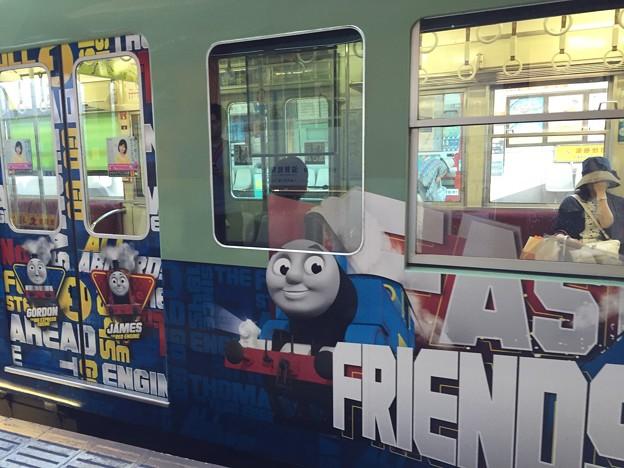 京阪電車 機関車トーマスラッピング電車