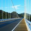 Photos: しまなみ海道・因島大橋の橋上風景
