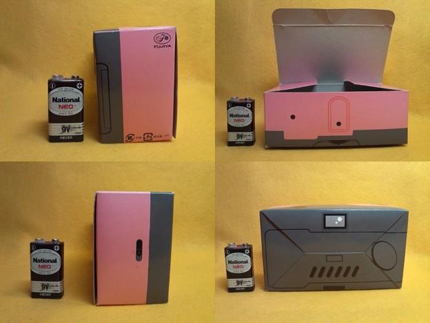 ペコちゃんカメラ 箱 35mmフィルム使用 電池未使用