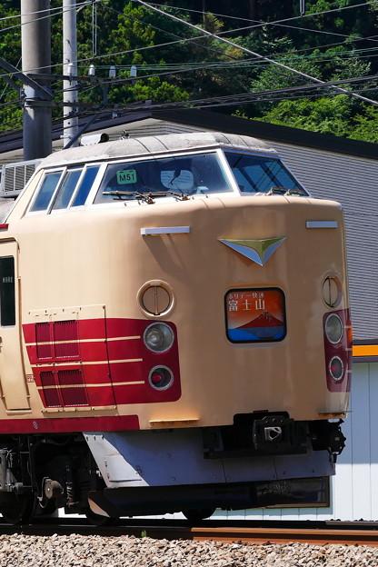 Photos: M51 189系 ホリデー快速富士山