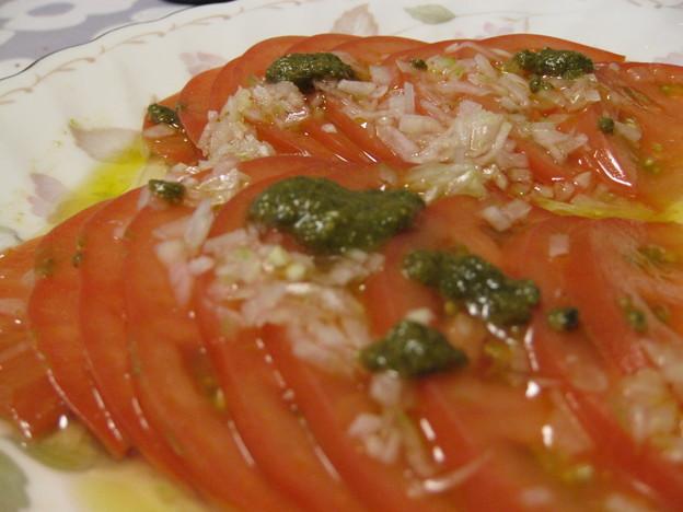 写真: トマトサラダ