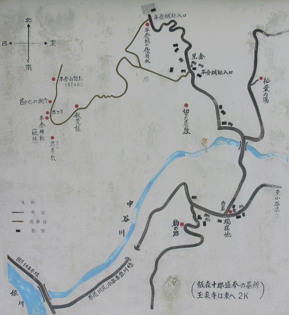 平倉城(小谷城。小谷村)