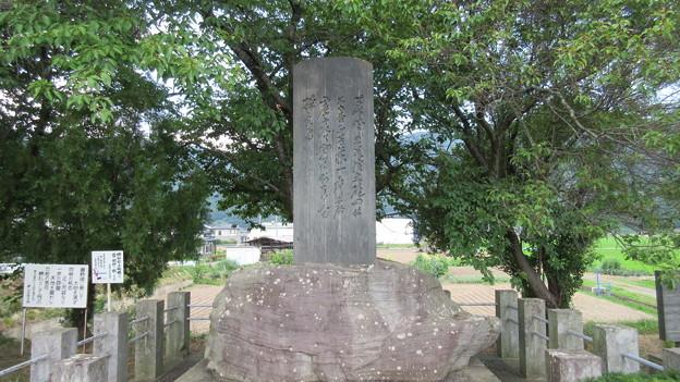 象山砲術試射地碑(千曲市)