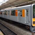 東武鉄道50050系による東急田園都市線急行(あざみ野駅にて)