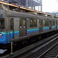 伊豆急行8000系によるJR東日本伊東線普通列車(熱海駅にて)