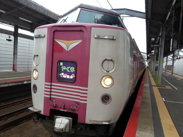 特急 やくもに乗って 岡山に行きます(>_<)