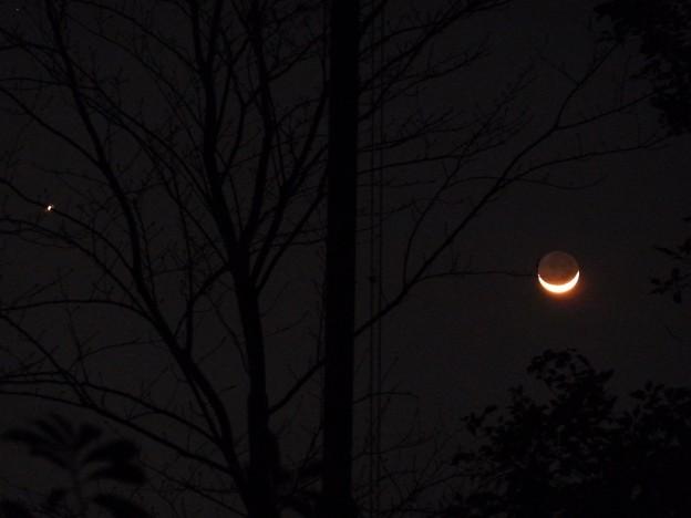 ~金星と月の接近~