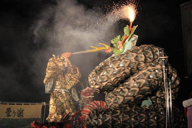 大蛇--弁天祭り前夜祭2015---kat