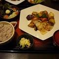 Photos: 150920-2 大戸屋の真鱈の黒酢あん定食