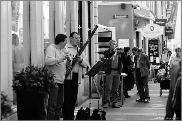 Die Straßenmusiker