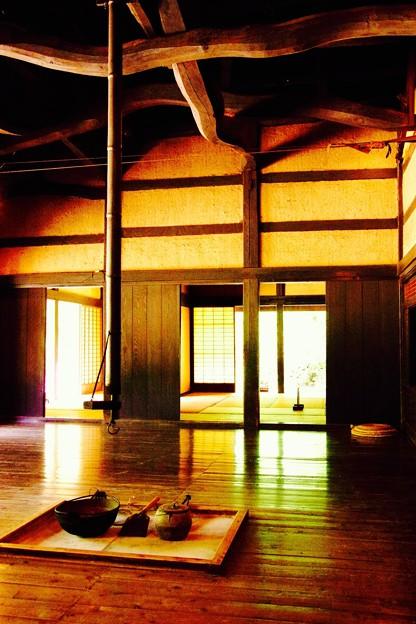 静寂な昼間の空間。。時が止まる風景。。川崎市日本民家園6月28日