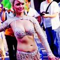 華麗に踊るサンバ。。おっぱま祭り7月12日