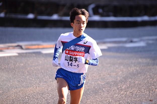 山梨学院の前田選手の山登り・・箱根駅伝20150102