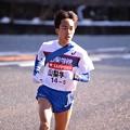 Photos: 山梨学院の前田選手の山登り・・箱根駅伝20150102