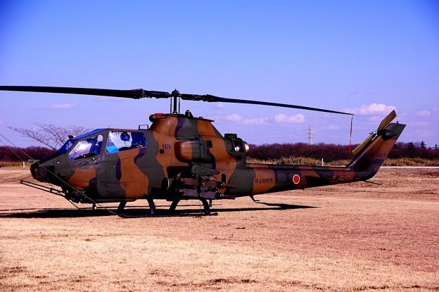 習志野駐屯地 展示 AH-1Sコブラ・・20150111