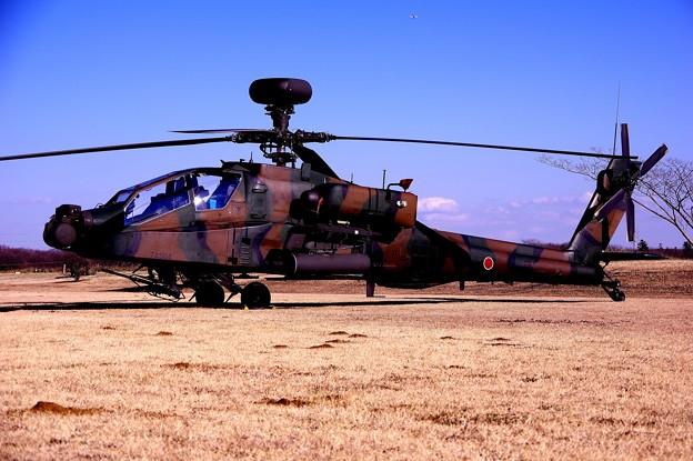 習志野駐屯地 展示 AH-64Dアパッチ・・20150111