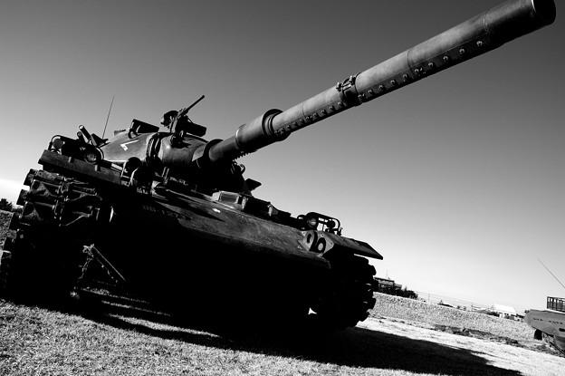 明日への平和に・・守る74式戦車・・20150111
