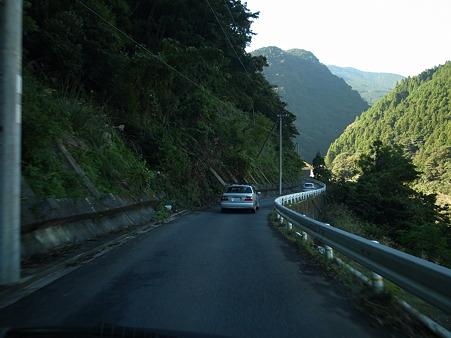 国道169号線・奈良県川上村の災害箇所-4