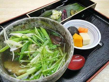 おこげ汁(道の駅・大和路へぐり【奈良】)
