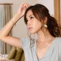 Photos: 益田杏奈ポニテ横2L