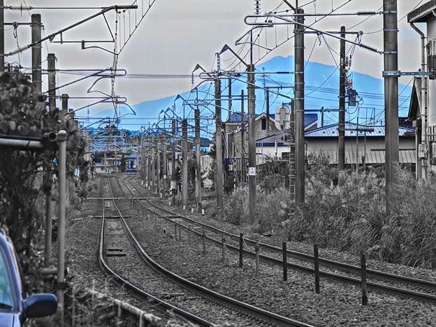 鉄路と鳥海山 vol.1
