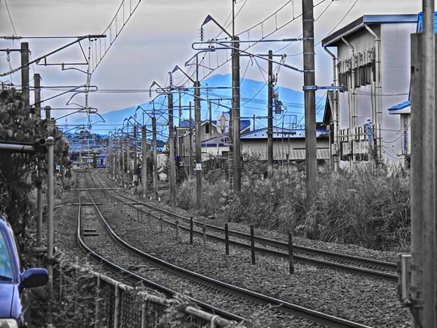 鉄路と鳥海山 vol.2