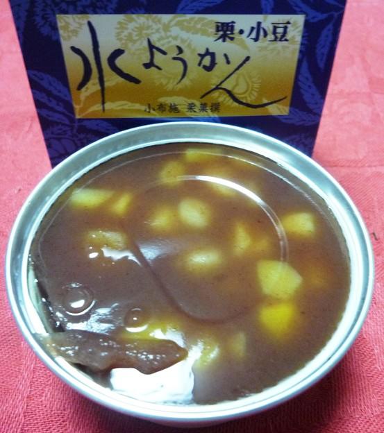 水ようかん 栗、小豆3