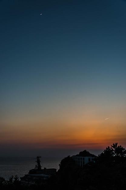 写真: 夕暮