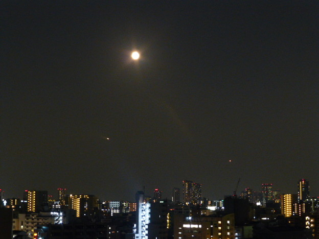 月の輝く夜@大阪