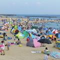 Photos: 賑わう海岸@アジュール舞子