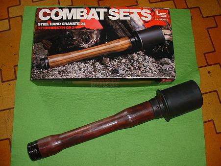 収束手榴弾のベース LS「STIHGR 24」外箱Doburoku-TAO