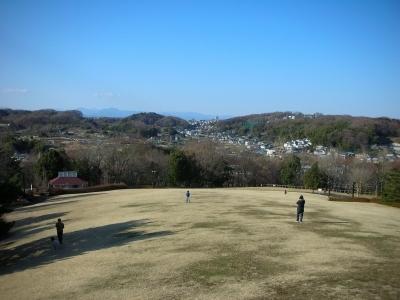 丘の上の展望台