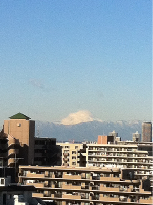 富士山は見飽きない