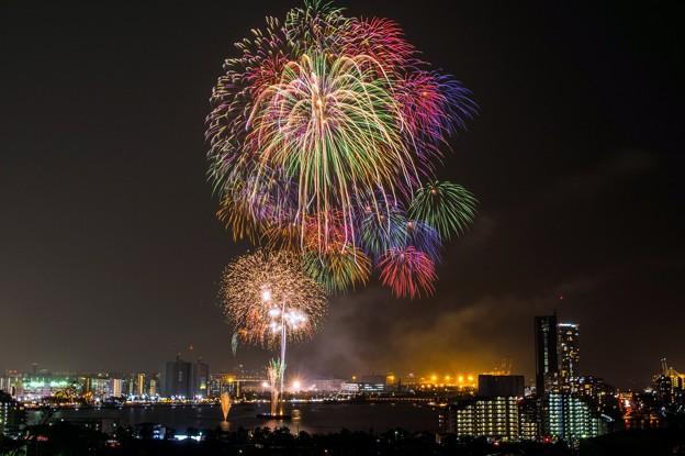 Fukuoka東区花火大会♪?