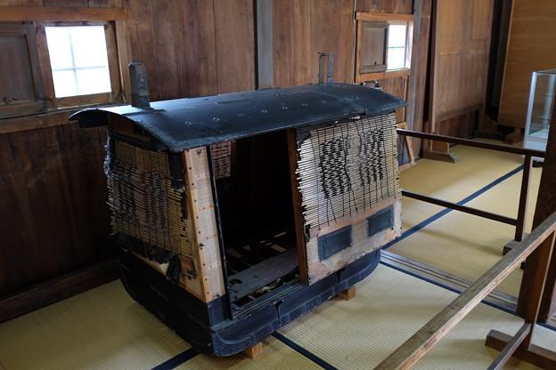 高知城の駕籠