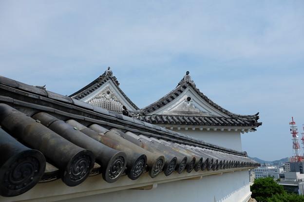 高知城の屋根瓦