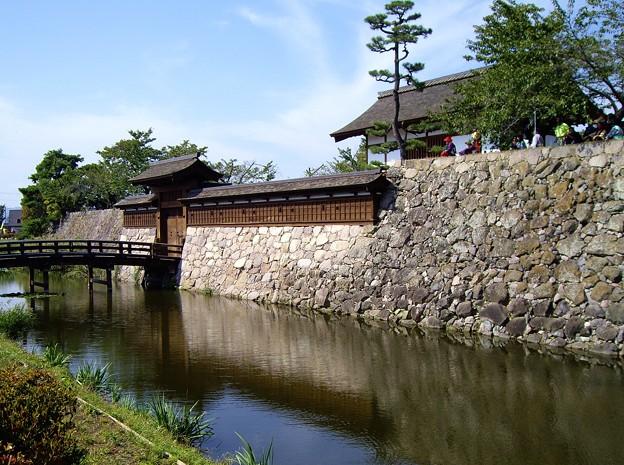 海津(松代)城の本丸表門