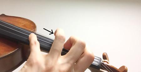 中野・江古田 バイオリン 個人レッスン ヴィオラ 吉瀬弥恵子 ワイズ音楽教室 指の位置の許容範囲
