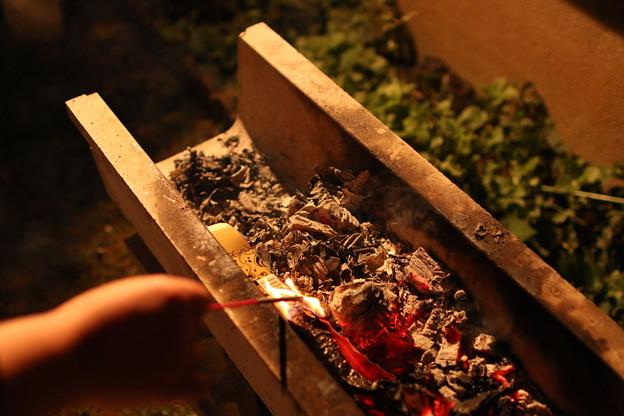 BBQ残り火