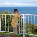 Photos: 02青い海とボーズみたいな娘
