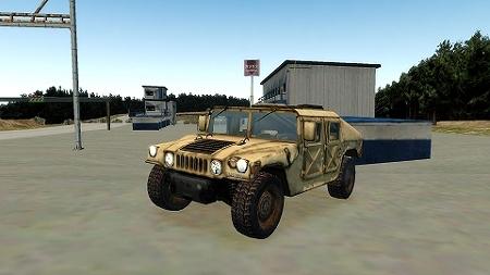 GTAIV Hummer H1 1